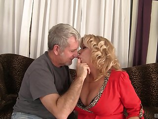 milf Karen Summer loves all different sex poses with her older friend