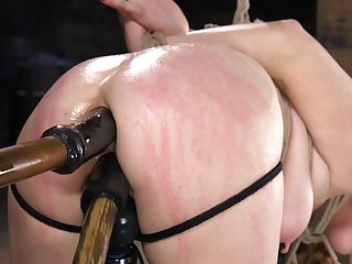 Ass drilling BDSM porn for obedient Penny Pax