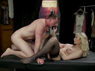 Anal domination and ass fisting with Aubrey Kate