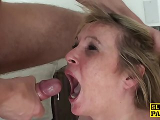 Humiliated Granny Submits to Maledom