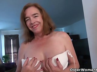 Mature ladies are often masturbating in front of the camera while completely alone at home