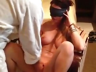 This is the way she likes to be examined and that girl has big juicy tits