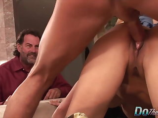 Do The Wife - Brunette Wives Bent Over Compilation Part 1