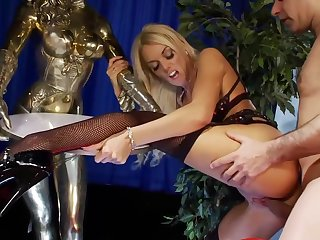 Antonia is a big titted blonde who is always ready to fuck a guy for cash