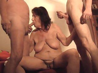 Whore granny Margareth home xozilla porn movies