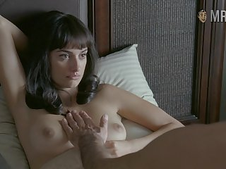 Attractive lady Penelope Cruz and her bed scenes will make you wank nonstop