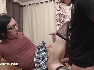La France A Poil - Sexy Schoolgirl Gets Her Tight Assho
